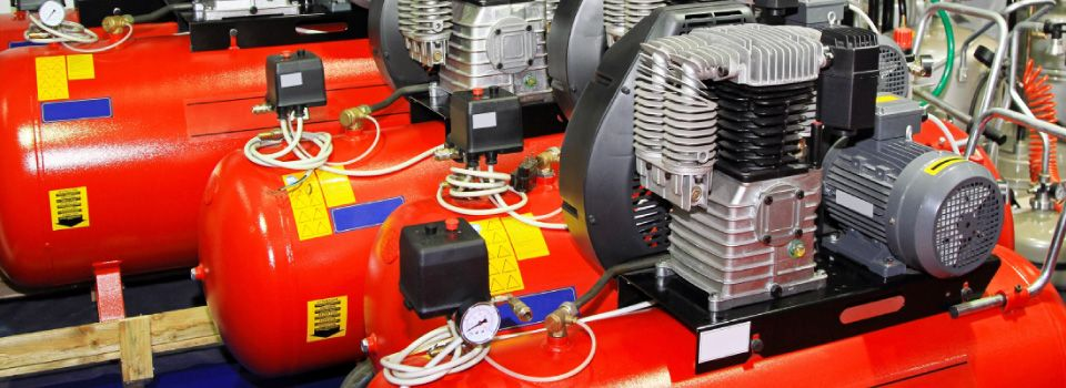 Large air compressor tanks to rent or buy